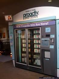 Proactiv Vending Machine Prices Best Find Proactiv Kiosk Online Discounts