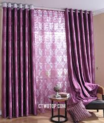 Purple Curtains For Bedroom Curtains And Drapes Purple