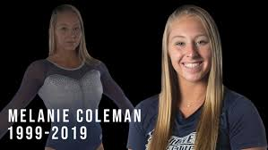 Nation mourns Melanie Coleman, Connecticut college gymnast who died in  accident - ABC7 New York
