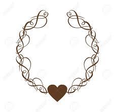 Scroll Heart Heart Scroll Wreath