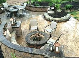 stamped concrete patio with fire pit cost. Wonderful Patio Stamped Concrete Patio Prices Combined With Covered Backyard Price Of  Average Cost  With Stamped Concrete Patio Fire Pit Cost T
