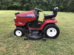 craftsman gt5000 lawn tractor for