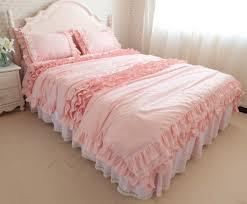 12 photos gallery of pink ruffle bedding ideas