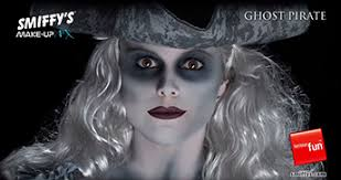 ghost pirate face painting tutorial