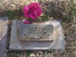 Myrna Lowe (1937-1939) - Find A Grave Memorial