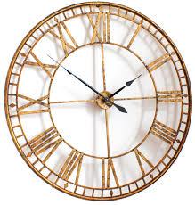 full image for terrific gigantic wall clock 70 large copper wall clocks australia golden oversized wall