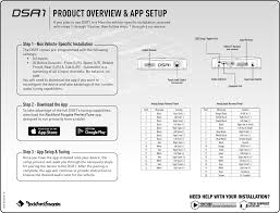 dsr1 signal processor user manual rockford