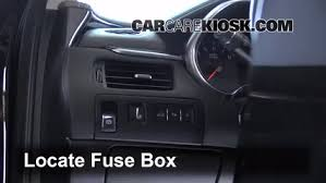 interior fuse box location chevrolet impala  interior fuse box location 2014 2016 chevrolet impala 2014 chevrolet impala lt 3 6l v6 flexfuel
