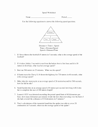Velocity and Acceleration Calculation Worksheet Answers Elegant ...