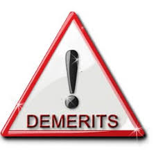Image result for demerit system image
