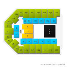 Appalachian Wireless Arena Seating Chart The Price Is Right Live Thu Mar 26 2020 7 30 Pm