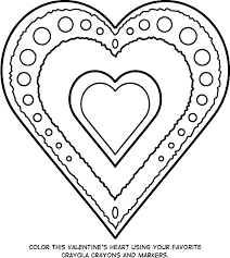Printable Valentines Coloring Pages Free Printable Valentine