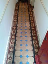 Victorian Kitchen Floors Victorian Tiled Hallway And Terracotta Kitchen Floor In Shrewsbury