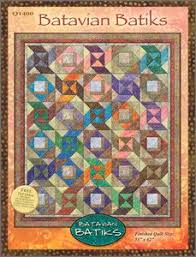 Free Downloadable Quilt Patterns & Batavian Batiks Quilt Pattern by Wilmington Prints at Bear Creek Quilting  Company.