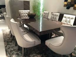 dining room chairs traditional traditional dining table with leather tufted chairs traditional round dining room set