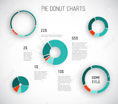 Pie Chart Infographic Colorful Vector Pie Chart Templates For Your Reports Infographics