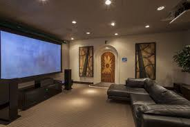 living room excited design living room theaters show time with large screen and black leather big living room furniture