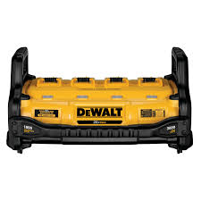 Dewalt Charger Yellow Light 1800 Watt Portable Power Station And Simultaneous Battery Charger