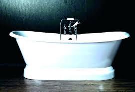 cast iron bathtub refinishing how to refinish a cast iron tub how to remove a cast cast iron bathtub