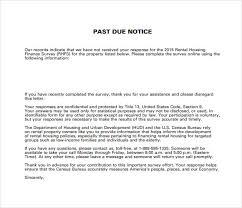 Past Due Letter Sample Bhvc