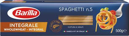 Купить <b>Макаронные изделия BARILLA</b> Спагетти Интеграле, 500 г ...