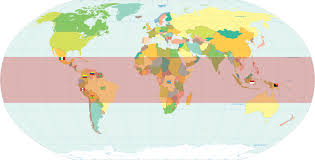 Tropical rainforests are located in tropical regions. Where Are Rainforests Found