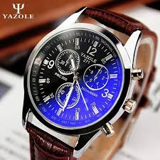 online buy whole leather belt watches for men from new listing yazole men watch luxury brand watches quartz clock fashion leather belts watch cheap sports
