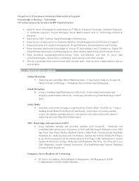 Media Resume Template Social Media Resume Examples Sample Specialist Resumes Manager Job