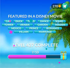 Word Stacks Level 427 Featured in a Disney movie Answers » Qunb
