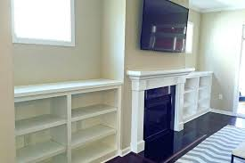 ikea built ins around fireplace fireplace with built ins built ins by mantel under window with
