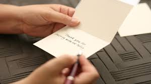 Writing A Thank You Note To Your Doctor