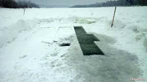 Крещенские купания зависят от погодных условий