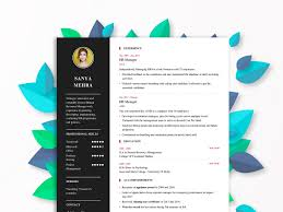 Resume Bilder Resume Builder By Dheeraj Anand On Dribbble
