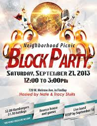 Block Party Flyers Templates Free 79 Party Flyer Examples Psd Ai Eps Vector Examples