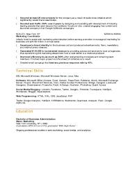 Sales Marketing Resume Format Elegant Updated Resume Formats Best 25