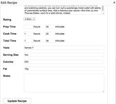 Meal Planner Pro Recipe Plugin Wp Solver