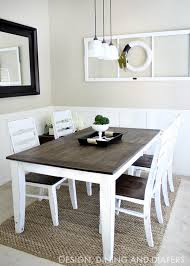 breakfast room furniture ideas. DIY-Farmhouse-Table-Makeover Breakfast Room Furniture Ideas