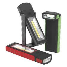 Magnetic Pocket Light Sealey Led4101db Magnetic Pocket Light 3w 0 5w Cob Led 4 X Aaa Display Box Of 12