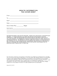 medical fax cover sheet 3 templates in pdf word excel health information fax cover sheet