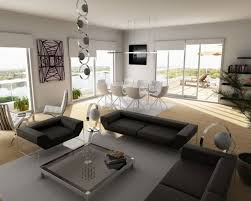 bachelor furniture. Awesome Bachelor Pad Furniture Design With Stylish Grey Seats And Rectangle Glass Top Table On Monotone D