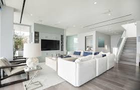 modern beach house living. Malibu Modern Beach House Living Room Blue Built In Shelving D