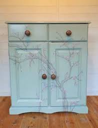 Painted Furniture Blossom Painted Furniture Hilary Wilson Art