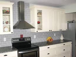 nice gray tile backsplash