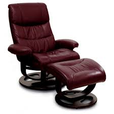 compact recliner chair. Dark Modern Leather Recliner With Slim Chairs Also Reclining Chair Ottoman Compact