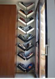 ikea arrange lack shelves in a v shape