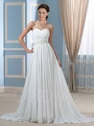 beaded pleated chiffon a line strapless maternity wedding dress