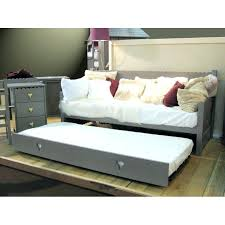 Daybed With Pull Out Bed Single Bedroom Furniture Twin Size White 10