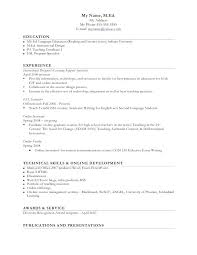 Esol Tutor Sample Resume Best Resume In Sample Teacher For English Teachers Position Thewhyfactorco