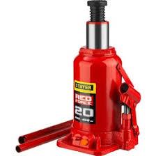 <b>Домкрат гидравлический бутылочный</b>, 20т, 230-430 мм, <b>MIRAX</b> ...