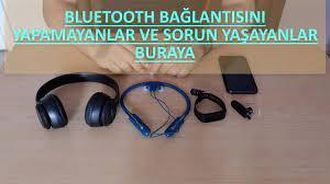 Bluetooth bağlantı sorunları nasıl giderilir? - YouTube